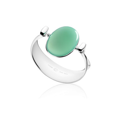 Dew Drop Bangle Green