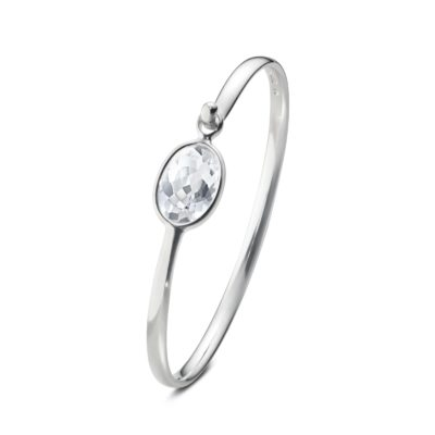 Savannah Rock Crystal Bangle